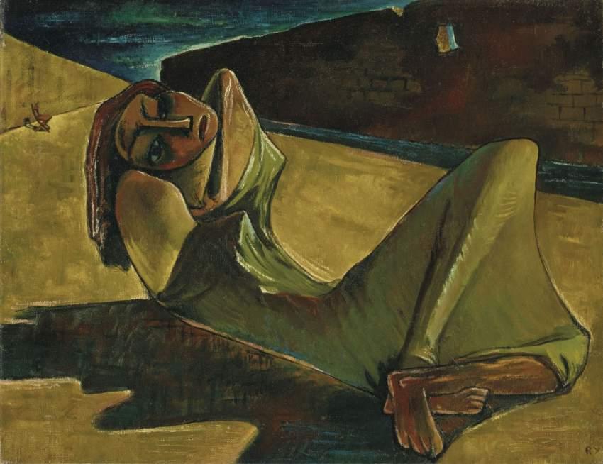 لوحة رمسيس يونان الأغلى