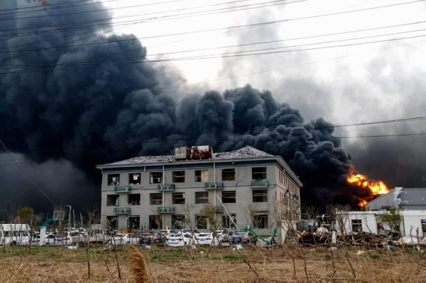 ارتفاع عدد قتلى انفجار في مصنع للمبيدات الحشرية بالصين إلى 78