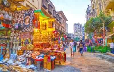 سوق خان الخليل في مصر