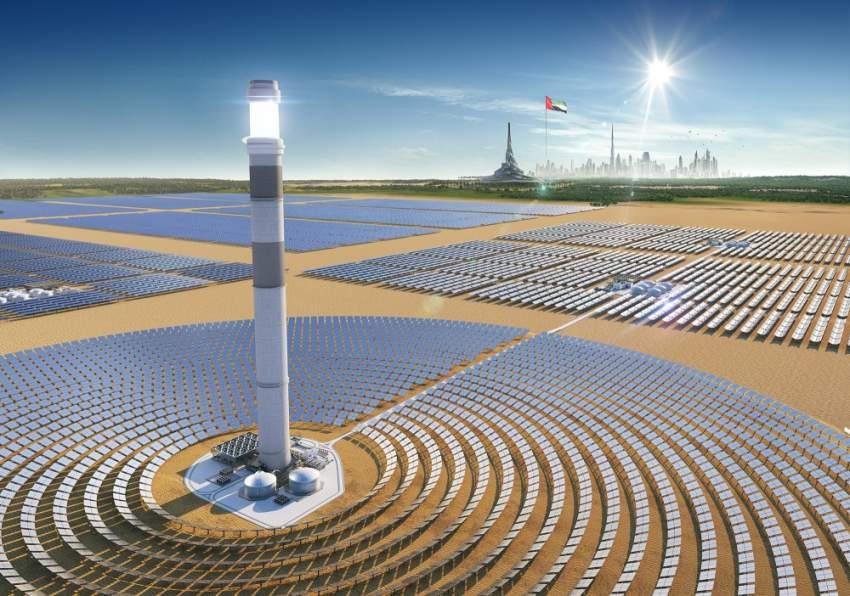 توقيع اتفاقية المرحلة الرابعة لمجمع محمد بن راشد للطاقة الشمسية