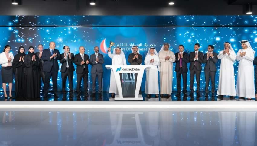 قرع جرس إدراج سندات بـ 750 مليون دولار في ناسداك دبي
