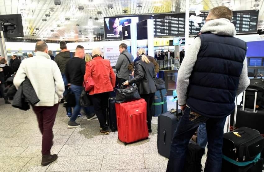 إلغاء المزيد من الرحلات من مطار فرانكفورت الألماني بسبب استمرار خلل تقني
