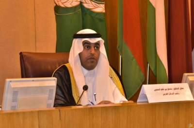 رئيس البرلمان العربي يرفض قرار ترامب الاعتراف بسيادة إسرائيل على الجولان