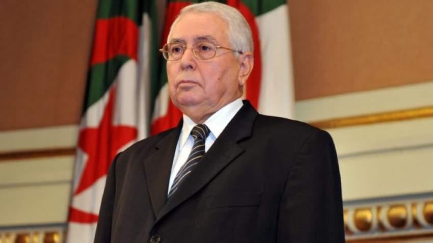 رئيس مجلس الأمة الجزائري عبدالقادر صالح