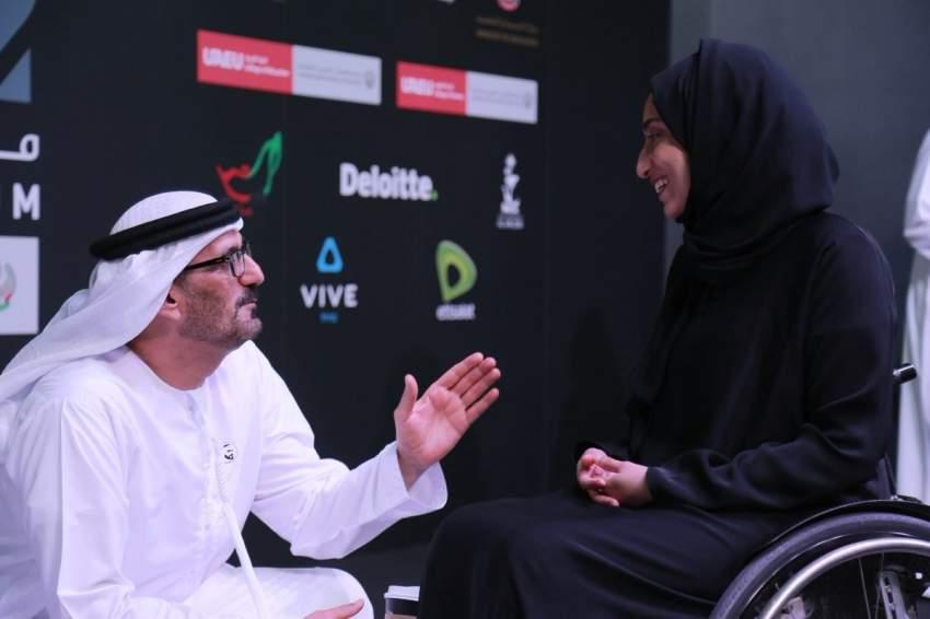 الحمادي يشهد تخريج 15 من الطلبة أصحاب الهمم في جامعة الإمارات