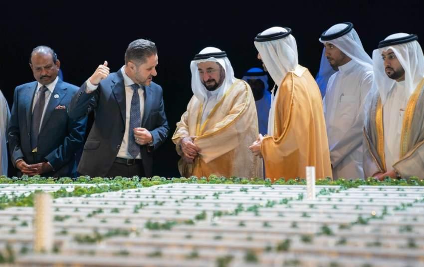 __سلطان القاسمي يطلق مشروع مدينة الشارقة المستدامة. 3-1553686528