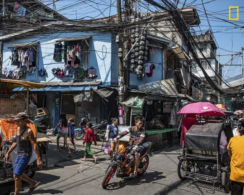 ملتقى طرق في مانيلا. (تصوير: Andrew Zapanta)