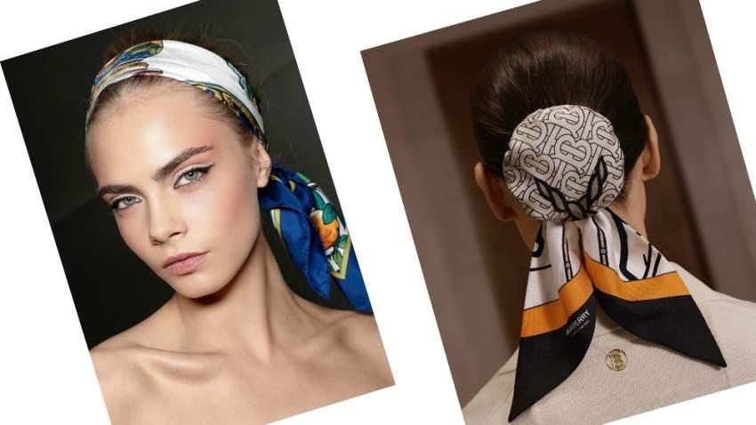 أساليب مختلف لاستخدام سكارف الشعر هذا الصيف