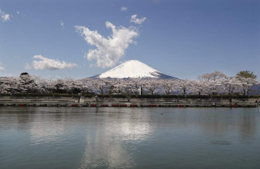 أدرجت منظمة اليونسكو جبل فوجي على قائمتها للتراث العالمي في حزيران 2013 مشددة على أهميته في الثقافة اليابانية