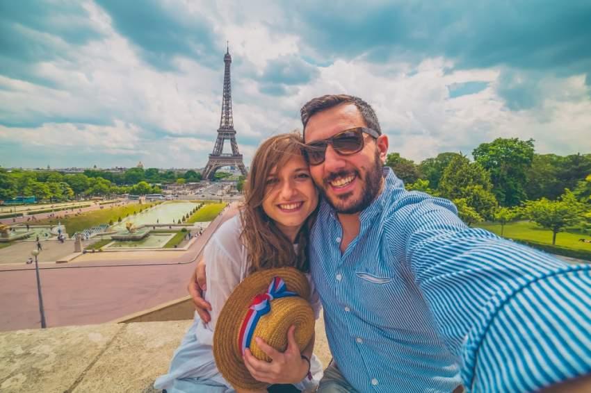 سيلفي في باريس