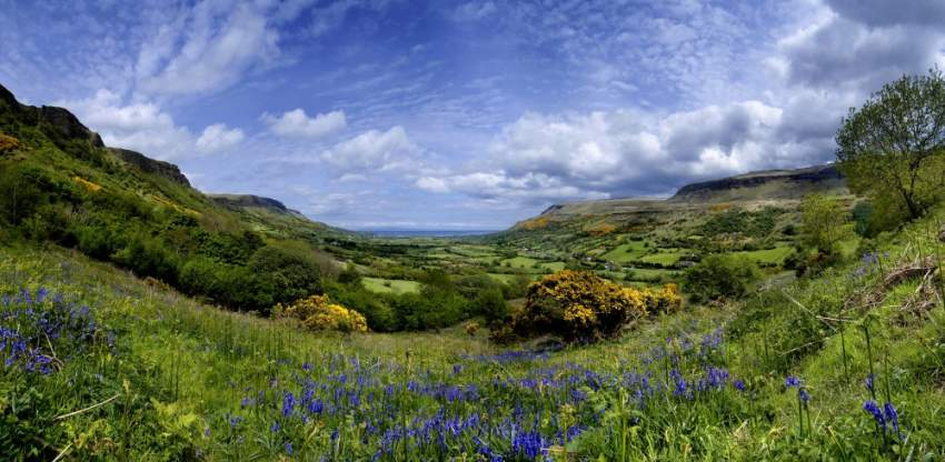 Glenariff, Co Antrim, Glens, Northern, Ireland