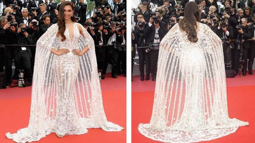 اختارت نجمة بولييود سونام كابور فستان أبيض لدى حضورها لمهرجان كان العام الماضي