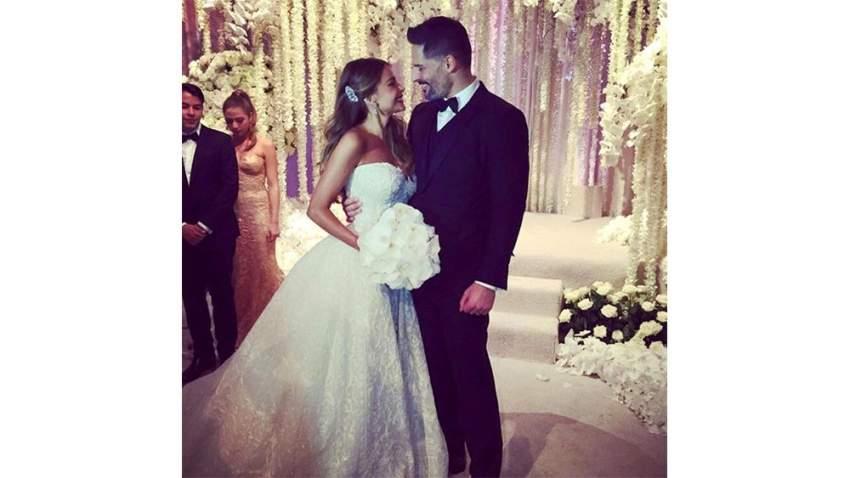 صوفيا فيرغارا في حفل زفافها