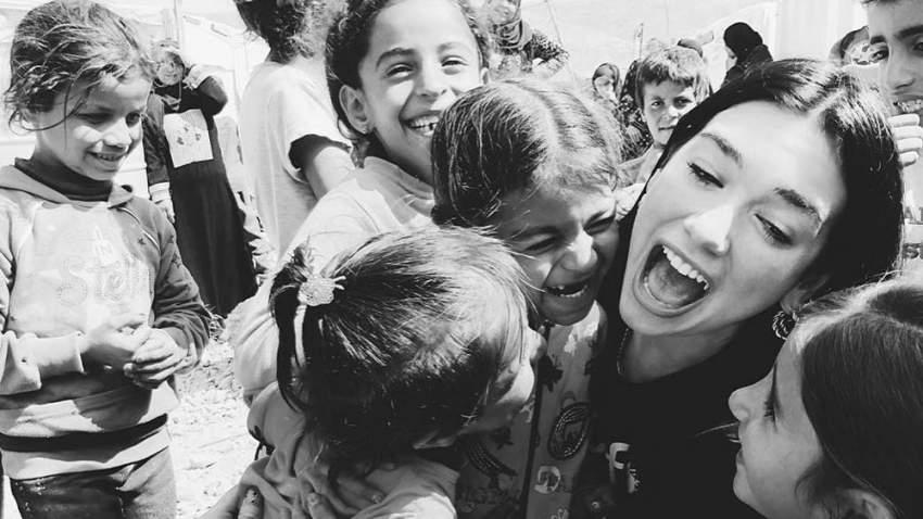 دواليبا شاركت الأطفال اللاجئين في معظم الأنشطة