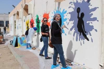 دبي العطاء تقوم بعملية تجديد المدرسة الأهلية الخيرية للبنات في الشارقة