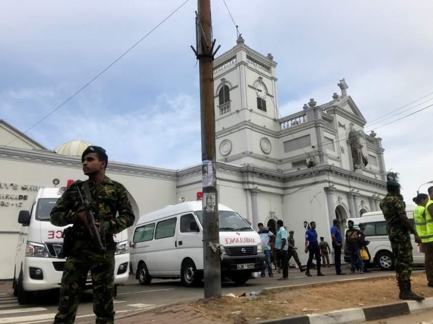 ارتفاع حصيلة ضحايا انفجارات سريلانكا الى 207 شخصاً على الأقل