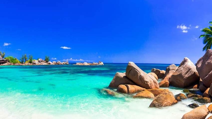 شواطيء جزر السيشيل