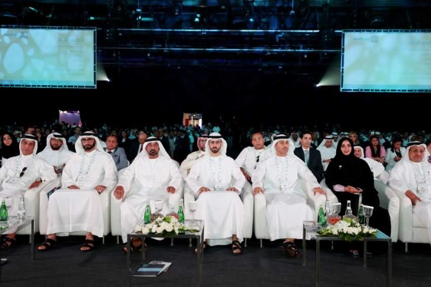 انطلاق قمة الذكاء الاصطناعي في دبي أمس. (الرؤية)
