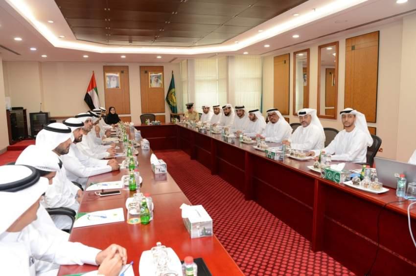 أثناء اجتماع مجلس مكافحة المخدرات على مستوى الدولة في دبي. (الرؤية)