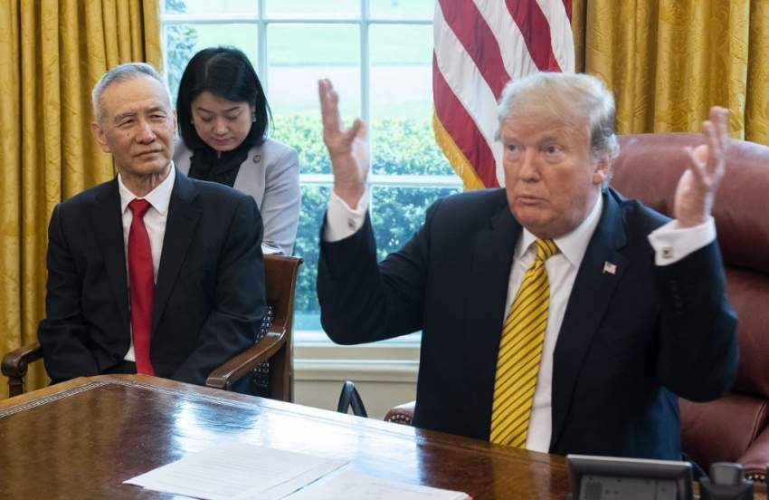 ترامب يشجّع الصين على إبرام اتفاق تجاري ويحذر من وضع أسوأ