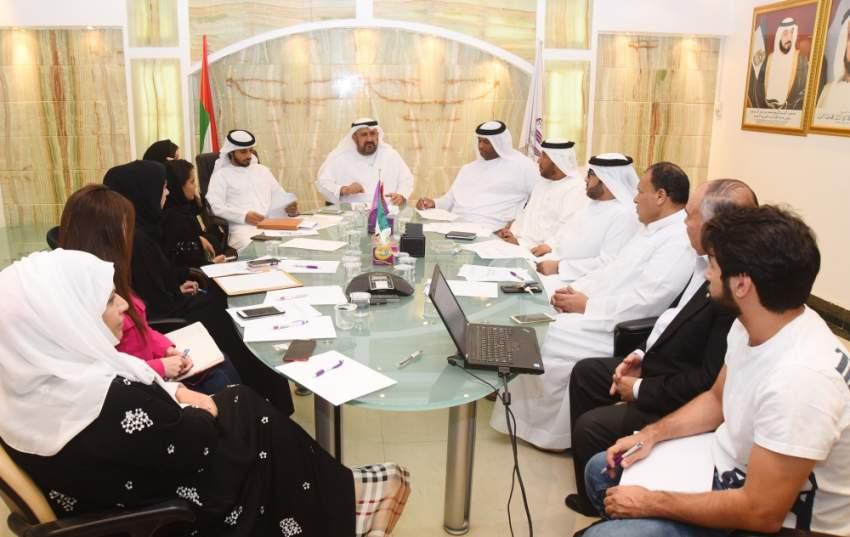 اجتماع اللجنة المنظمة العليا لبطولة التسامح الرمضانية.
