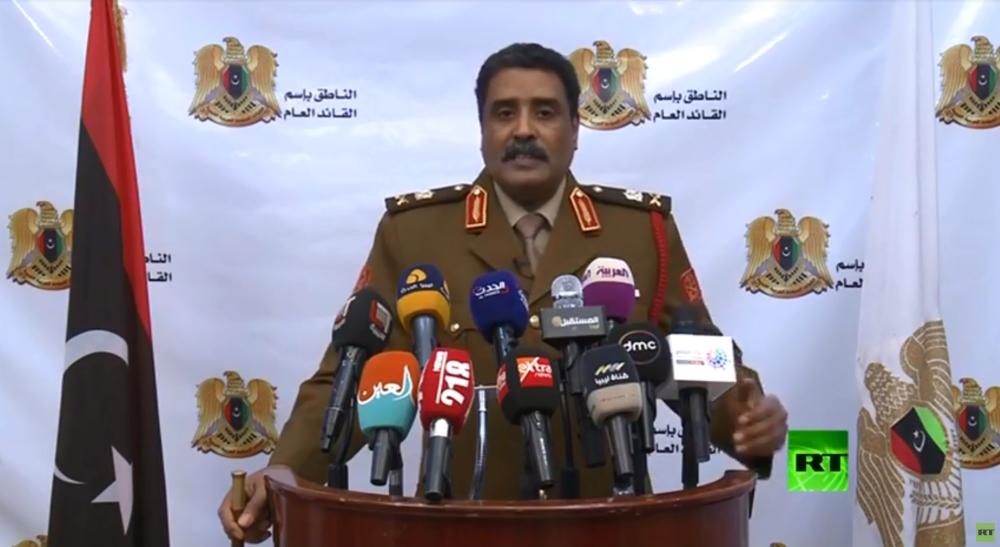 المتحدث باسم الجيش الوطني الليبي. (الرؤية)