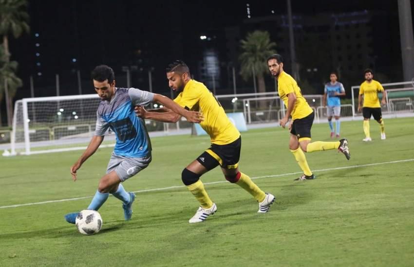 من مباريات بطولة مكتوم بن راشد الرمضانية في دبي. (الرؤية)