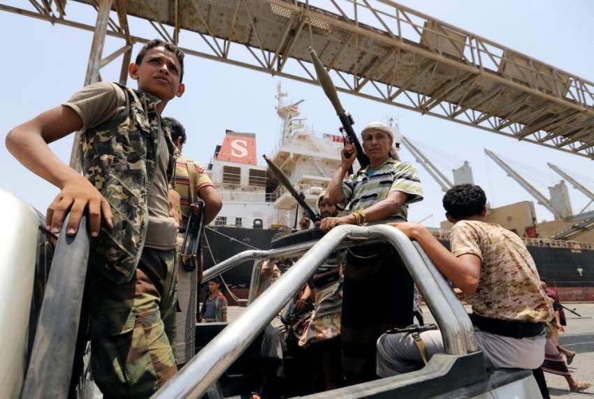 هجوم لقوات التحالف في الضالع ومقتل وأسر المئات