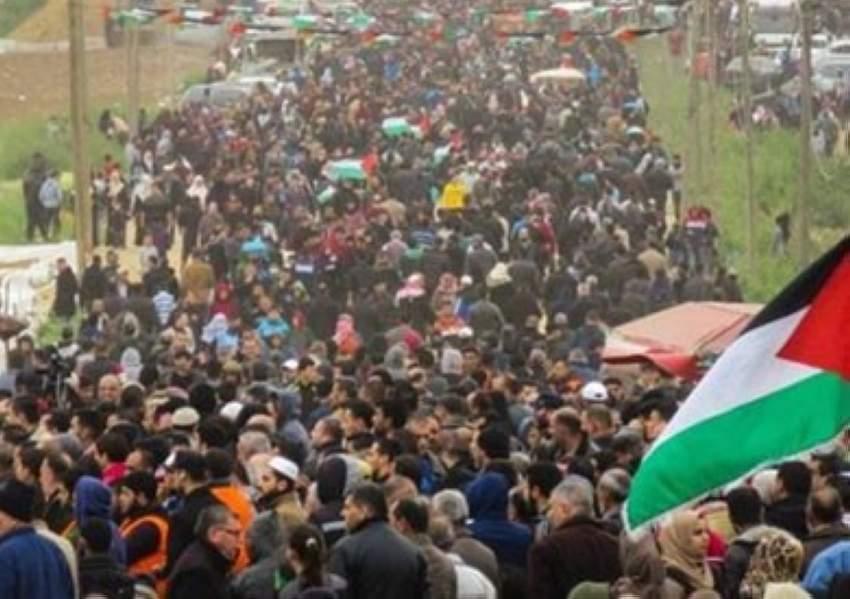 غزة: استعدادات  لـ «مليونية الأرض والعودة» عند الحدود مع إسرائيل في ذكرى النكبة
