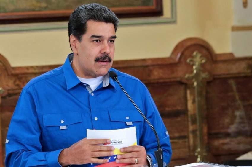 مادورو يندّد بـ «انتهاك حرمة» السفارة الفنزويلية في واشنطن