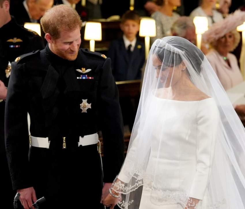 أقيم حفل زفافهما الملكي في كنيسة «سانت جورج» بقلعة وندسور  في إنجلترا وقدرت تكاليفه بـ 30 مليون جنيه إسترليني