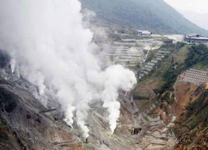 رفع مستوى التحذير من بركان جبل «هاكون» في اليابان