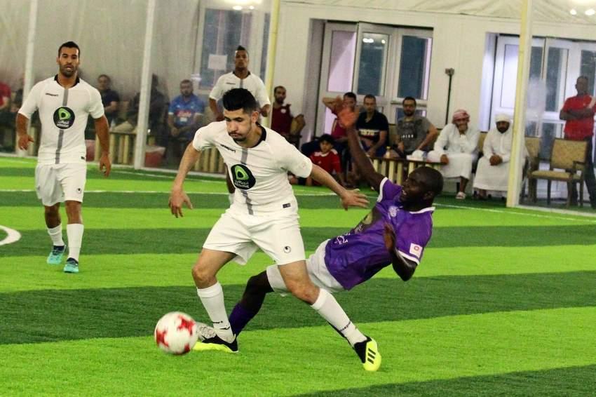 من مباريات البطولة (تصوير: محمد بدر الدين ـ