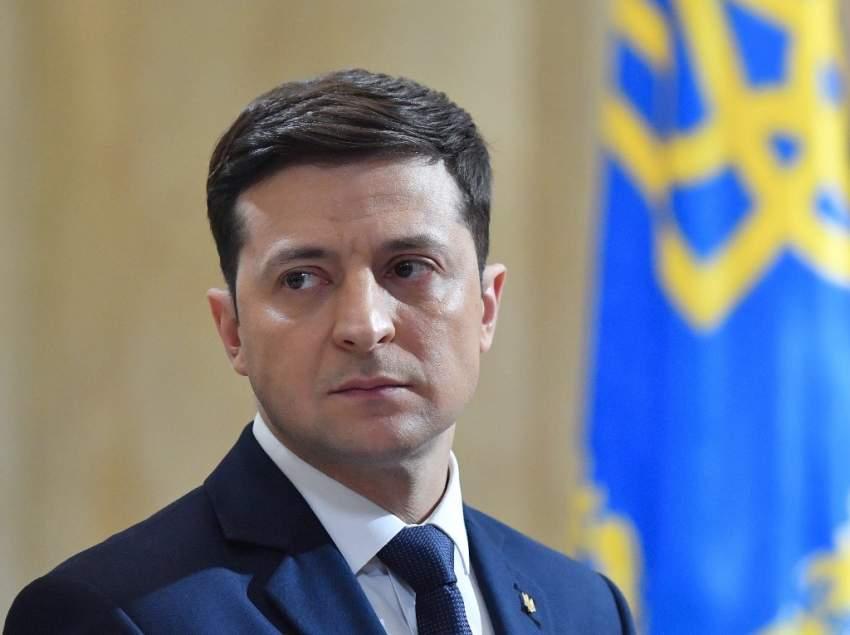 تنصيب الممثل التلفزيوني زيلينسكي رئيساً لأوكرانيا اليوم