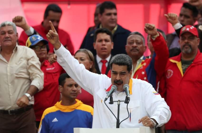 فنزويلا: مادورو يحتفل بالذكرى السنوية لإعادة انتخابه
