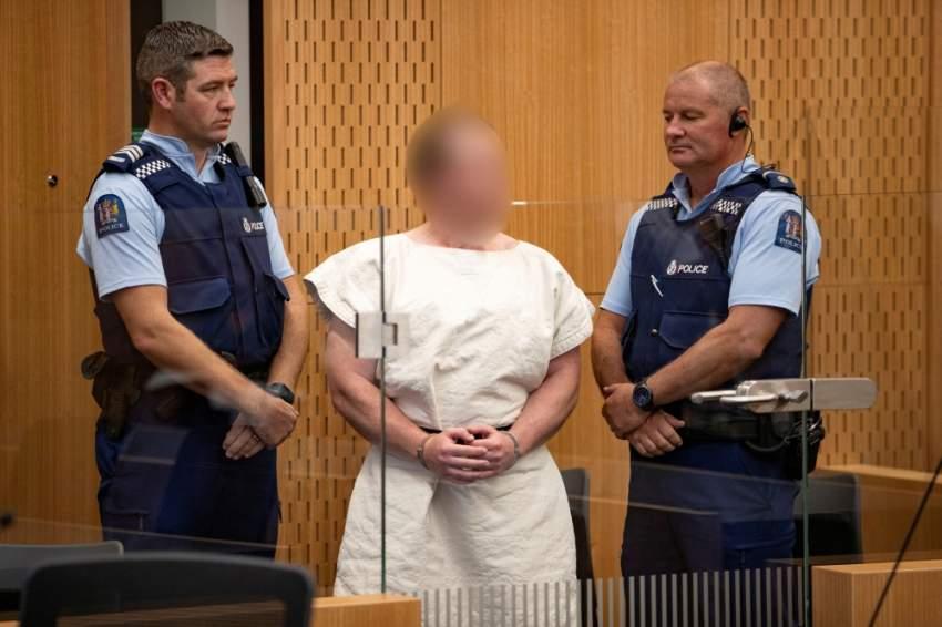 المتهم بارتكاب مجزرة كرايست تشيرش. (رويترز)