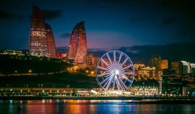 العاصة الأذربيجانية باكو
