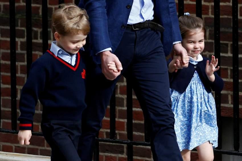 الأميرة شارلوت تبدأ مشوارها التعليمي