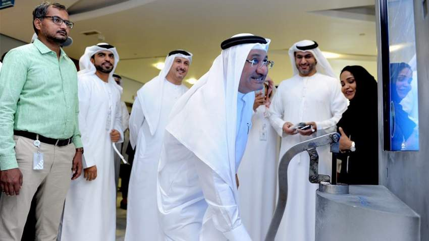 هيئة الصحة في دبي شاركت في الفعالية