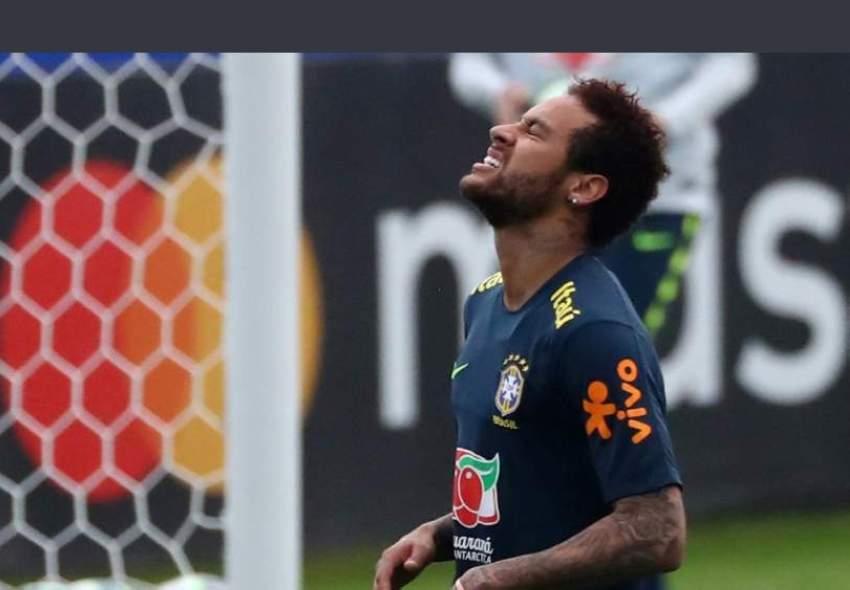 نيمار يفقد شارة قيادة البرازيل بالانفلات