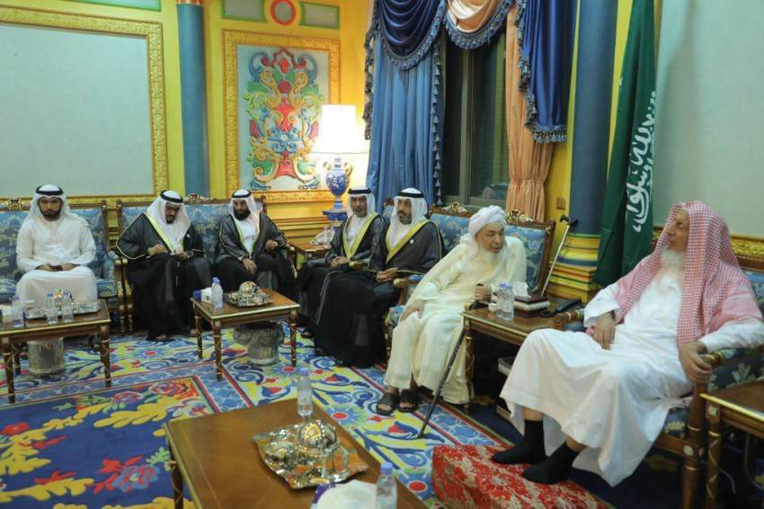 مفتي السعودية يستقبل رئيس وأعضاء مجلس الإمارات للإفتاء الشرعي