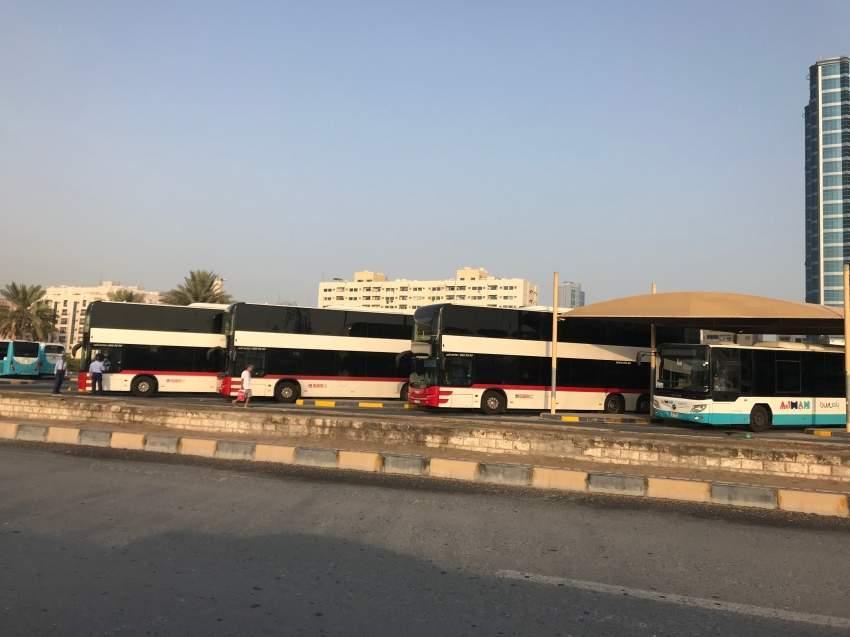 مواصلات عجمان تمدد مواعيد الحافلات في العيد