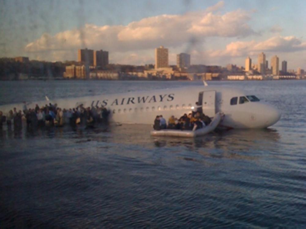 طائرة نهر هدسون.