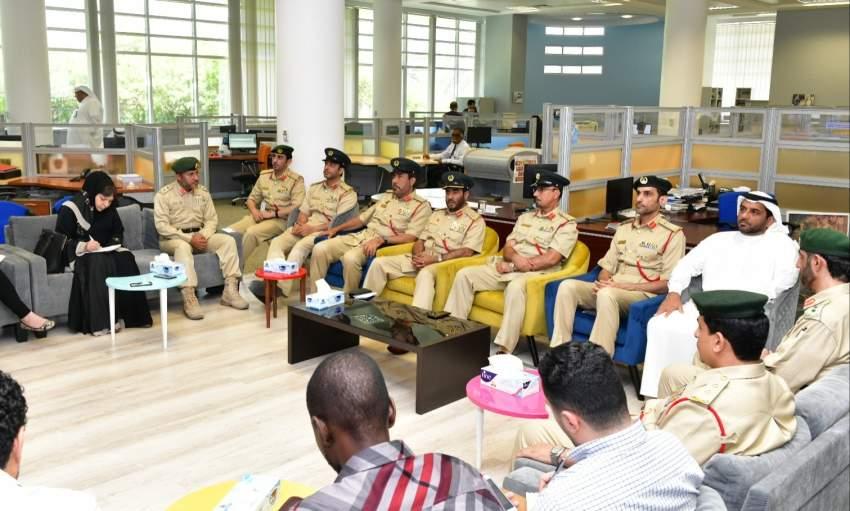 خلال مؤتمر شرطة دبي للإعلان عن استعدادات عيد الفطر. (الرؤية)