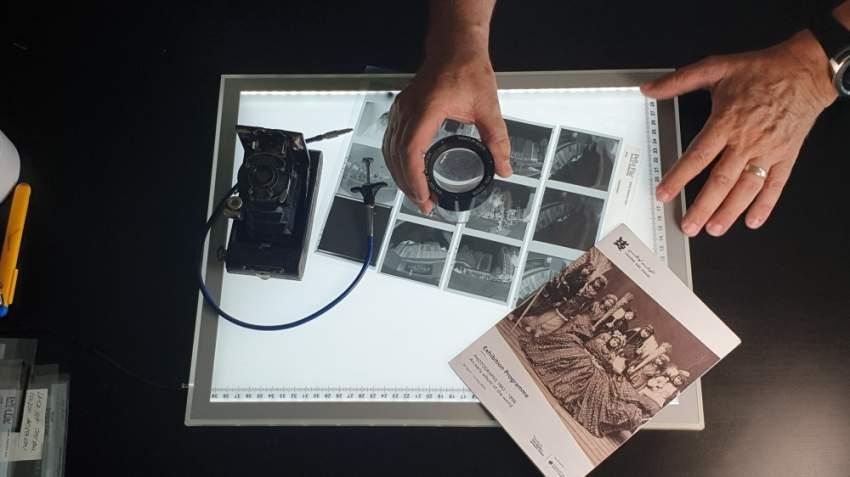 مراجعة صور مُلتقطة جاهزة للطباعة. © فيل بورجيز - 2019