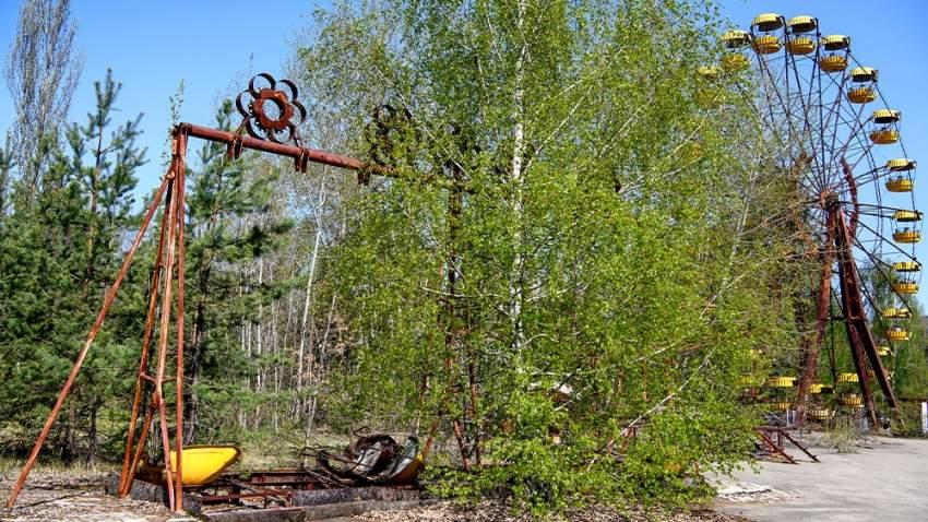 بقايا من تشرنوبل في أوكرانيا