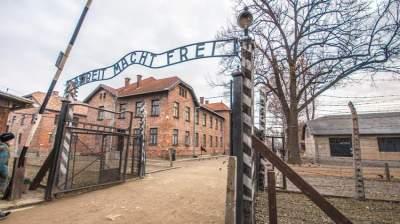 معسكر أوشفيتز النازي للاعتقال والقتل
