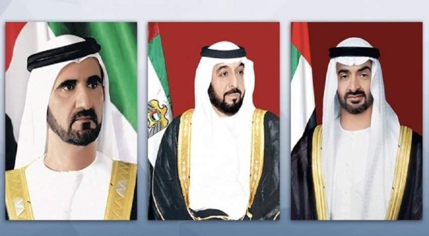 رئيس الدولة ونائبه ومحمد بن زايد يتلقون برقيات تهنئة بعيد الفطر