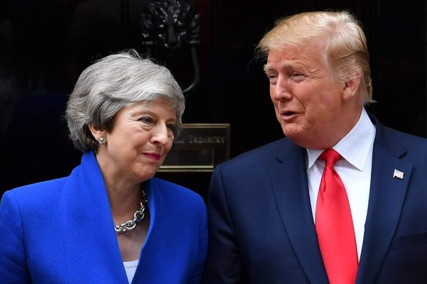 ترامب يتعهد باتفاق تجاري «مهم للغاية» مع بريطانيا بعد بريكست