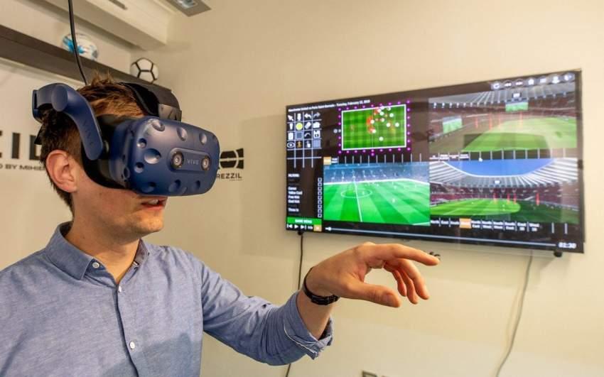 أندية إنجلترا تستعين بالواقع الافتراضي لتطوير مهارة النجوم